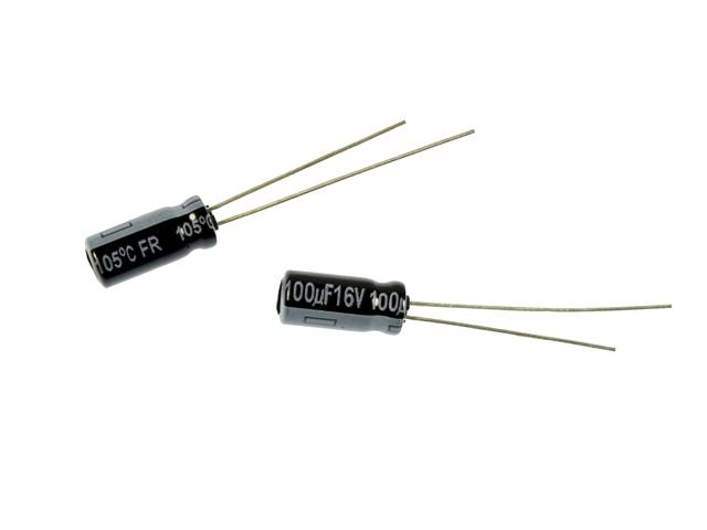 condensator 100uF-16V-low-ESR