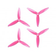 GEMFAN FLASH 5152 3 blades roze set van 4