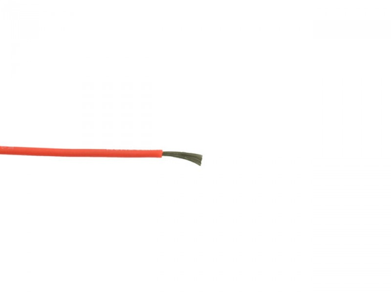 Silicon cable 26 AWG red
